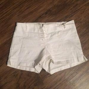 Venus White Shorts